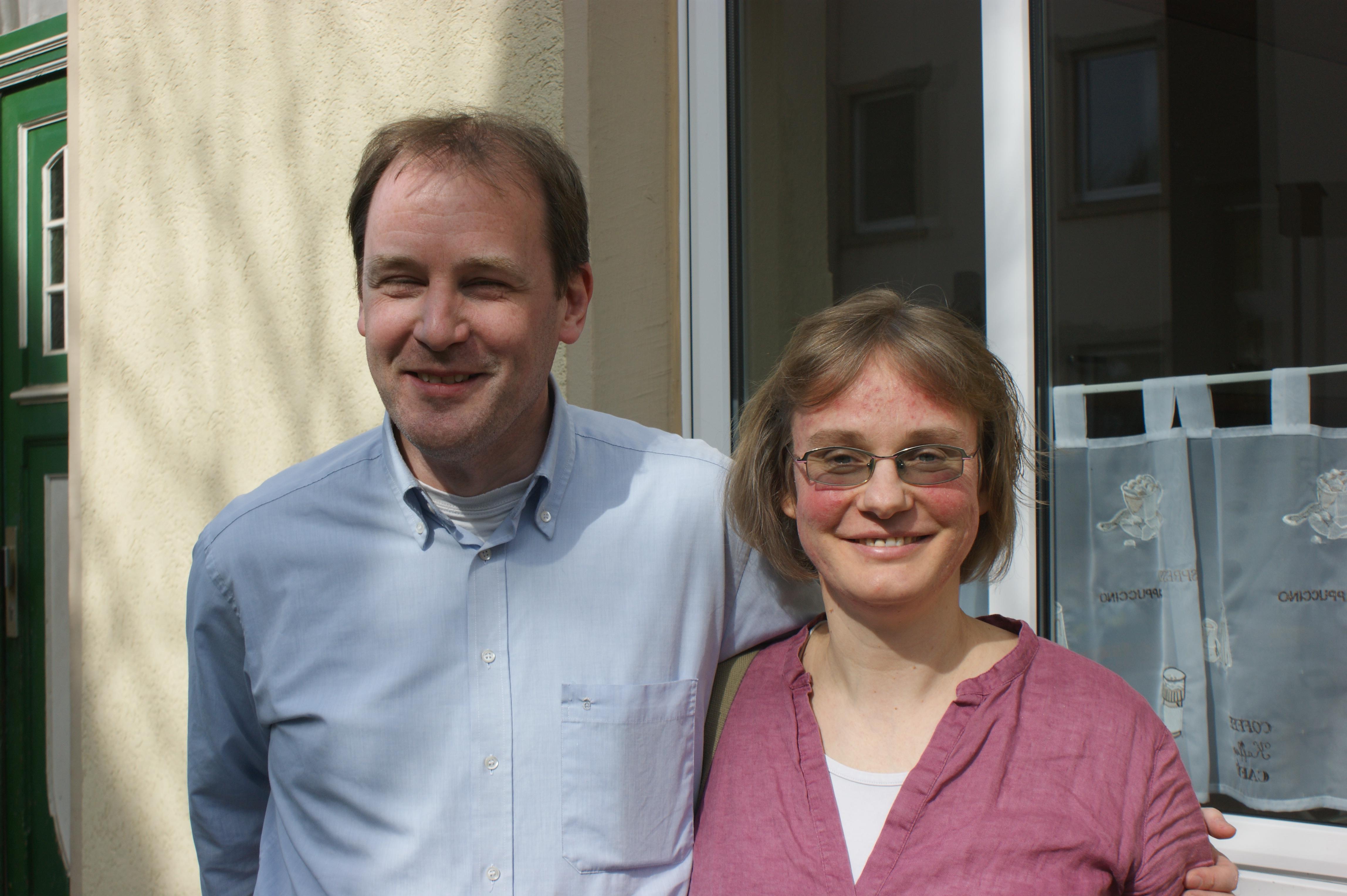 Maria und Daniel Hägele